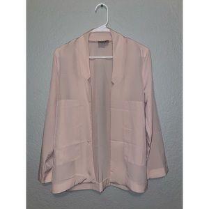ASOS light pink blazer
